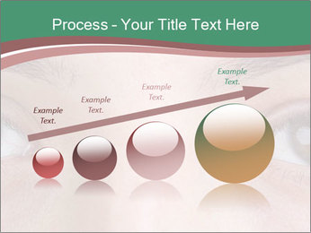 Opened woman's eye PowerPoint Templates - Slide 87