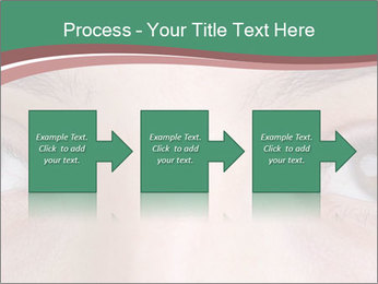 Opened woman's eye PowerPoint Templates - Slide 88