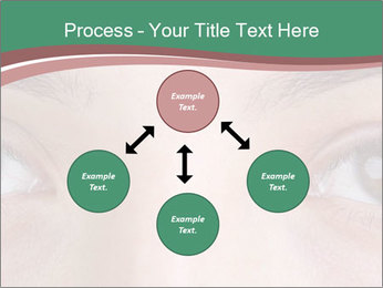 Opened woman's eye PowerPoint Templates - Slide 91