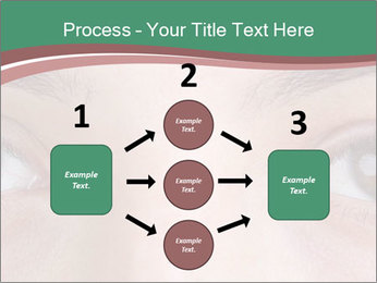 Opened woman's eye PowerPoint Templates - Slide 92