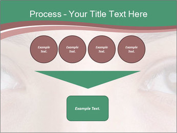 Opened woman's eye PowerPoint Templates - Slide 93