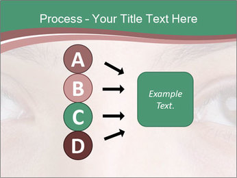Opened woman's eye PowerPoint Templates - Slide 94