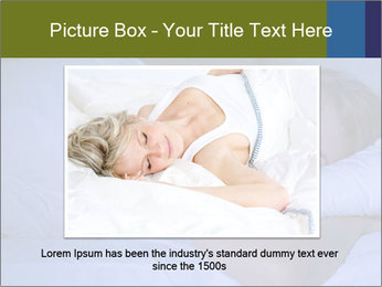 Serene woman sleeping PowerPoint Template - Slide 15