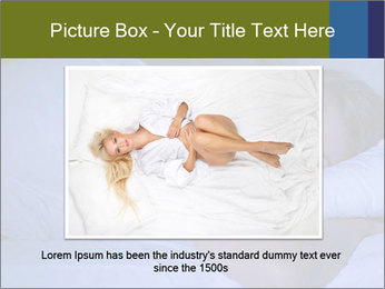 Serene woman sleeping PowerPoint Template - Slide 16