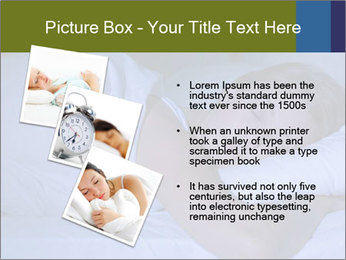 Serene woman sleeping PowerPoint Template - Slide 17