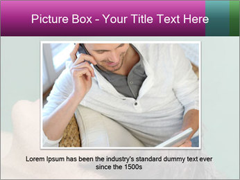 Relaxed handsome man PowerPoint Template - Slide 15