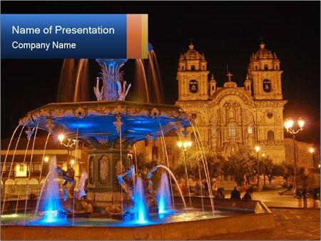 Plaza de Armas PowerPoint Templates