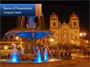 Plaza de Armas PowerPoint Template