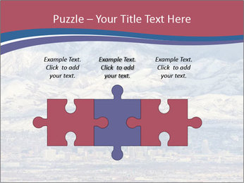 Salt Lake City Utah USA PowerPoint Templates - Slide 42