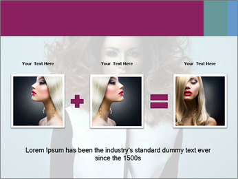 Beautiful sexy girl PowerPoint Templates - Slide 22