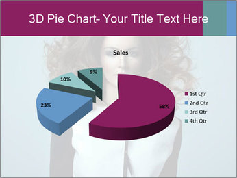Beautiful sexy girl PowerPoint Templates - Slide 35