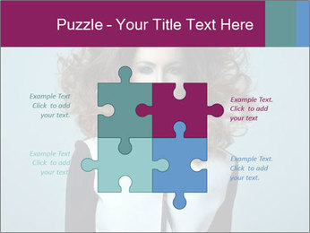 Beautiful sexy girl PowerPoint Templates - Slide 43