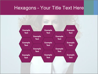 Beautiful sexy girl PowerPoint Templates - Slide 44
