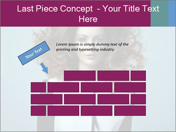 Beautiful sexy girl PowerPoint Templates - Slide 46