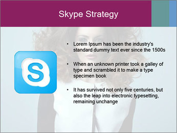 Beautiful sexy girl PowerPoint Templates - Slide 8