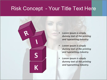 Beautiful sexy girl PowerPoint Templates - Slide 81