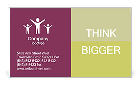 0000086340 Business Card Template