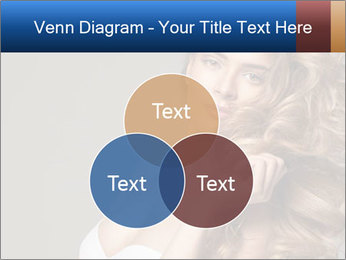 Fashion photo of blonde beauty PowerPoint Template - Slide 33