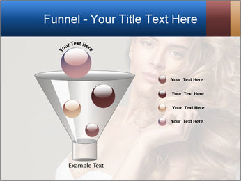 Fashion photo of blonde beauty PowerPoint Template - Slide 63