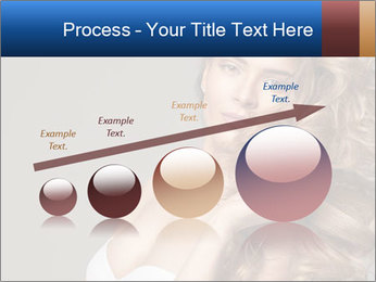 Fashion photo of blonde beauty PowerPoint Template - Slide 87