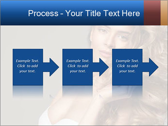 Fashion photo of blonde beauty PowerPoint Template - Slide 88