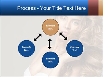 Fashion photo of blonde beauty PowerPoint Template - Slide 91