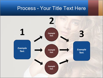Fashion photo of blonde beauty PowerPoint Template - Slide 92