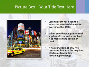 Skyline of downtown PowerPoint Template - Slide 13