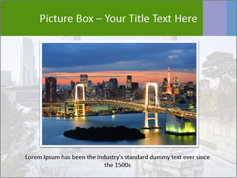 Skyline of downtown PowerPoint Template - Slide 16