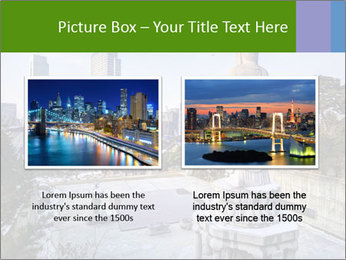 Skyline of downtown PowerPoint Template - Slide 18