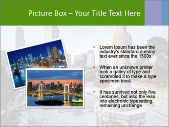 Skyline of downtown PowerPoint Template - Slide 20