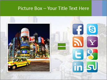 Skyline of downtown PowerPoint Template - Slide 21