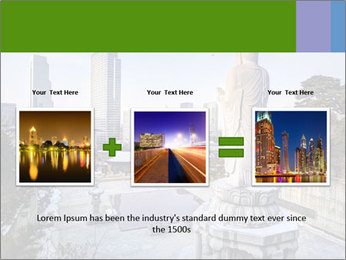 Skyline of downtown PowerPoint Template - Slide 22