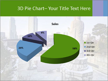 Skyline of downtown PowerPoint Templates - Slide 35