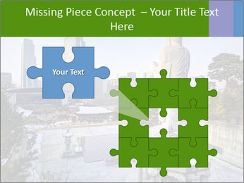 Skyline of downtown PowerPoint Templates - Slide 45