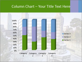 Skyline of downtown PowerPoint Template - Slide 50