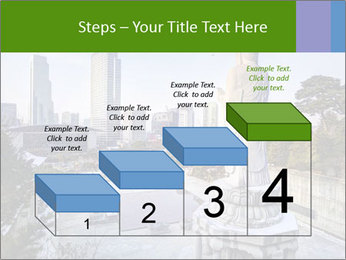 Skyline of downtown PowerPoint Template - Slide 64