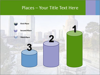 Skyline of downtown PowerPoint Template - Slide 65
