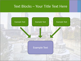 Skyline of downtown PowerPoint Templates - Slide 70
