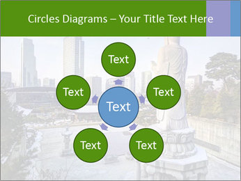 Skyline of downtown PowerPoint Templates - Slide 78