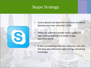 Skyline of downtown PowerPoint Template - Slide 8