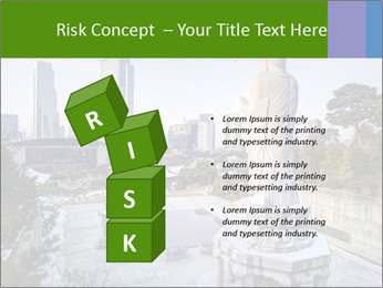 Skyline of downtown PowerPoint Template - Slide 81