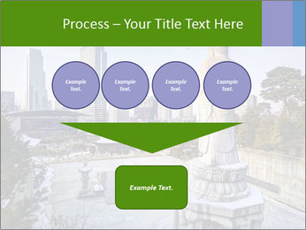 Skyline of downtown PowerPoint Template - Slide 93