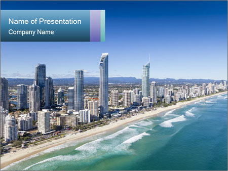 Surfers Paradise PowerPoint Template