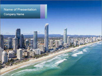Surfers Paradise PowerPoint Templates - Slide 1