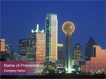 Dallas PowerPoint Template