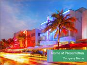 Miami Beach PowerPoint Templates