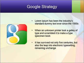 Rainbow-colored umbrella PowerPoint Templates - Slide 10