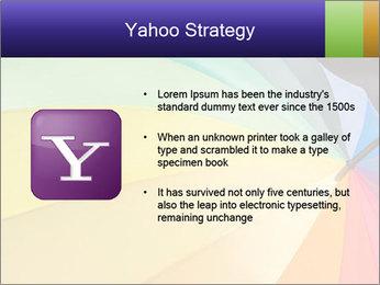 Rainbow-colored umbrella PowerPoint Templates - Slide 11