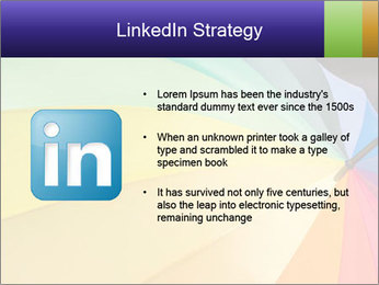 Rainbow-colored umbrella PowerPoint Templates - Slide 12